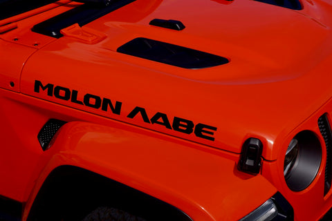 "MOLON LABE ""Come and Take"" Hood Decals for your Jeep Wrangler JL or Gladiator JT"