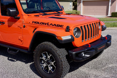"MOLON LABE ""Come and Take"" with Spartan Helmet Hood Decals for your Jeep Wrangler JL or Gladiator JT"