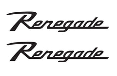 Jeep Wrangler RENEGADE Retro CJ Style Hood Decals