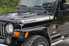 Jeep RENEGADE Retro Hood Decals for Wrangler TJ