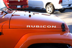 Jeep Wrangler RUBICON Hood Decals