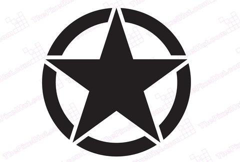 Oscar Mike Freedom Star Hood Graphic Sticker Decal