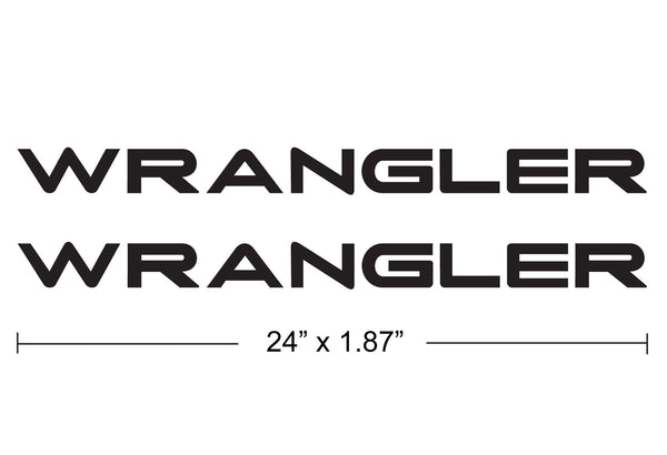jeep wrangler logo decal. jeep wrangler hood decals tj style wrangler logo decal