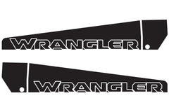 Jeep Wrangler Ramp Style Hood Decals for Wrangler JL