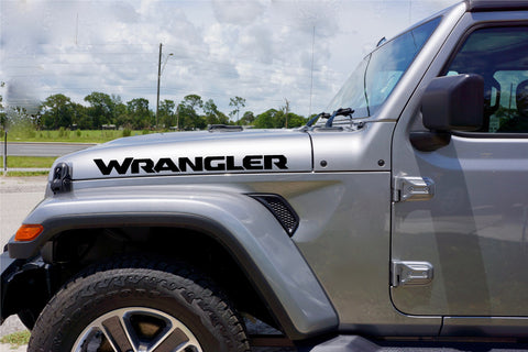 Jeep WRANGLER Hood Decals JL Style