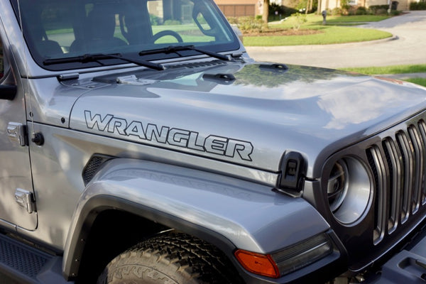 Jeep WRANGLER Out Line Hood Decals JL Style