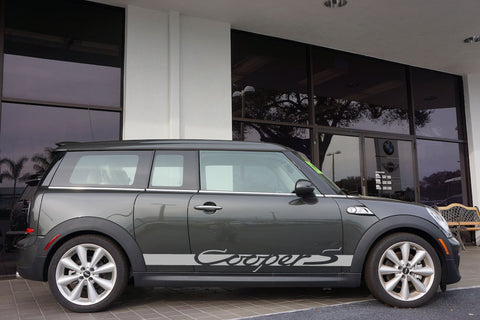 Mini Cooper S Retro Door Decals
