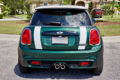 Mini Cooper Hard Top Boot Stripes 4 Door (2014 to Present) - Exact Fit - Two Color - Laminated
