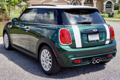 Mini Cooper Hard Top Boot Stripes 2 Door (2014 to Present) - Exact Fit - Two Color - Laminated