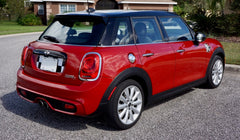 Mini Cooper (2014-Present) F55 F56 Hard Top Trunk Boot Lid Decal  - Union Jack -  English Flag