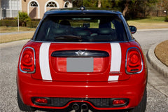 Mini Cooper Hard Top Boot Stripes (2014 to Present) - Exact Fit - Two Color - Laminated