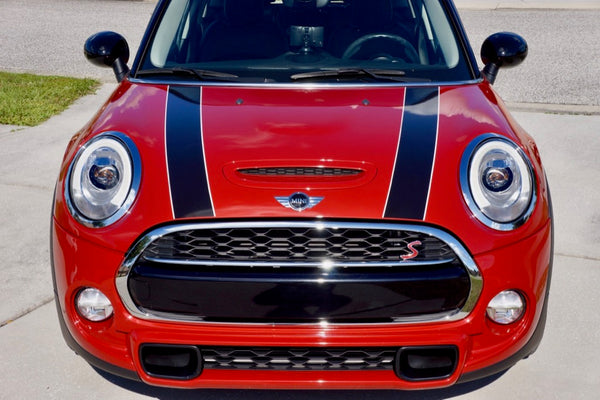 Mini Cooper Hardtop Convertible Two Color Hood Bonnet