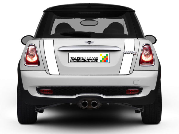 Mini Cooper R56 Boot Stripes (2007-2013) - Exact Fit - Two Color - Laminated