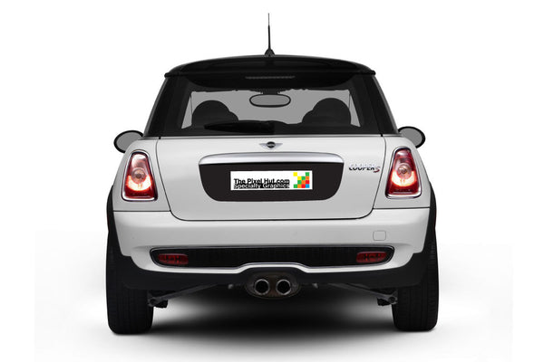 Mini Cooper (2007-2013) R56 Trunk Lid Decal - Exact Fit - Single Color