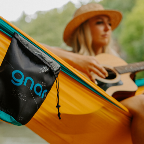 Live Gnar Double Dapper Hammock with Crystal Hope