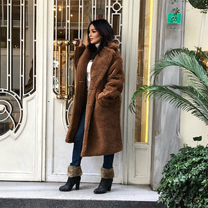 Long Faux Fur Coats