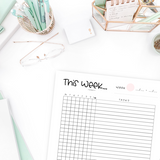 Weekly To-Do list (The Alastair Method)