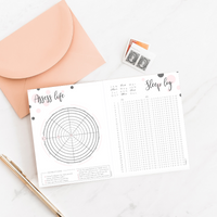 2020-2021 SaturdayGift Printable Planner: Feel good plans and goals - Color: Cotton Candy (Dated Calendars)