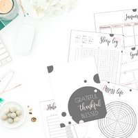 Planner: Feel-Good Goals & Plans - Cotton Candy
