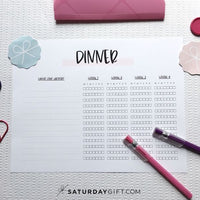 Super Simple Meal Planning Method - printable set