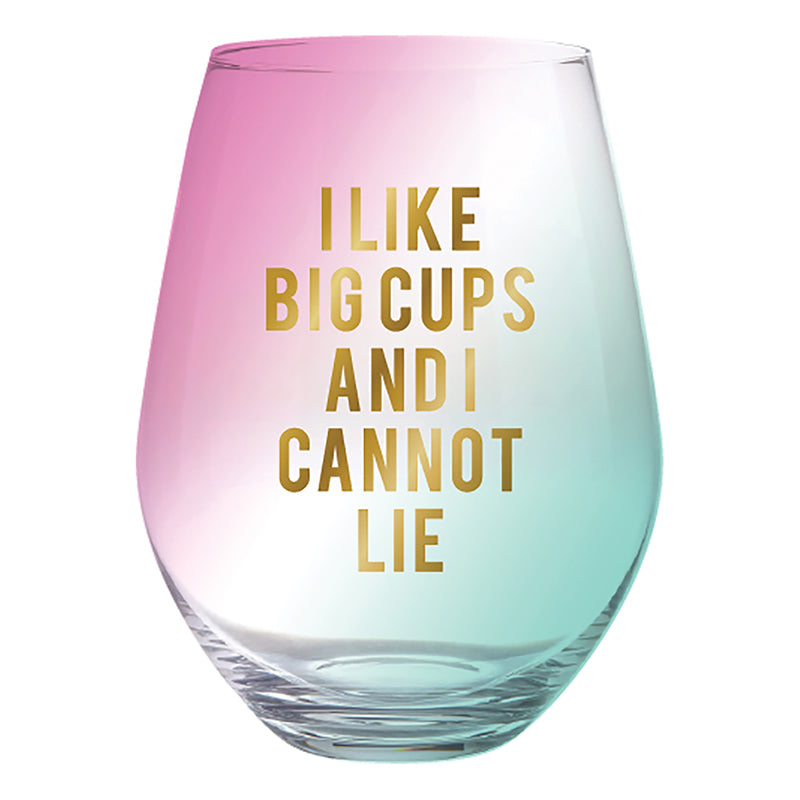 Slant Jumbo Wine Glass - I Like Big Cups