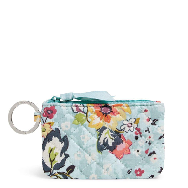 Vera Bradley Zip ID Case in Signature Cotton - Floating Garden