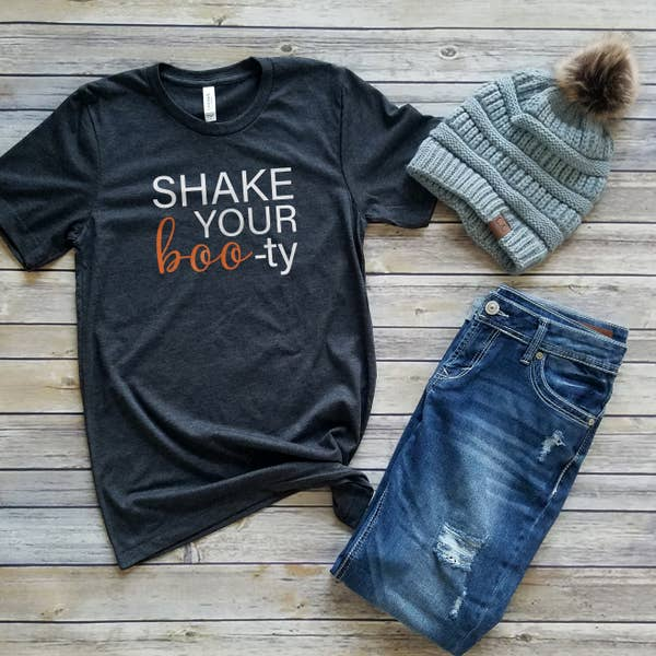 Shake Your Boo-ty Ladies Tee