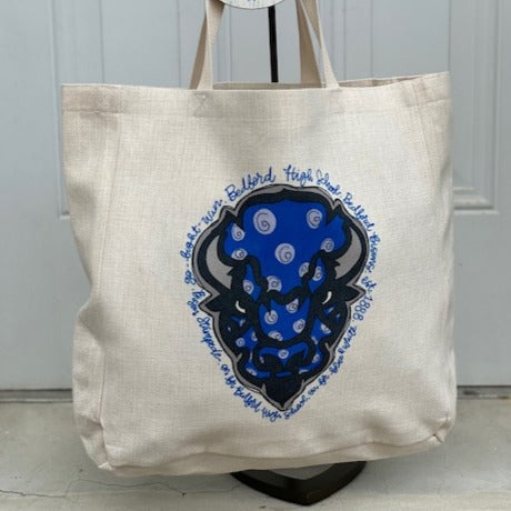 Bedford Bison Tote Bag