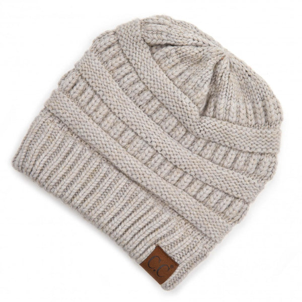 C.C. Snuggly Soft Yarn Knit Beanie
