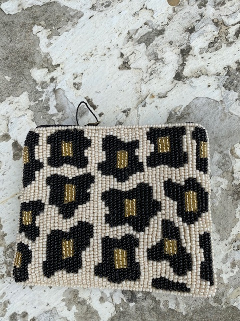 Bamboo Trading: Club Bag Coin Purse Leopard