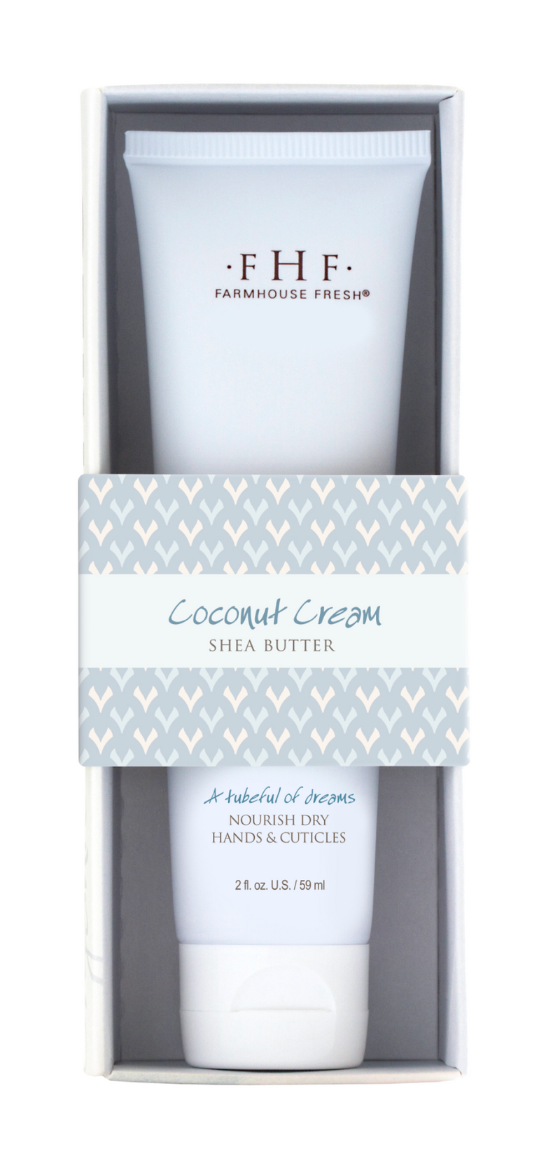 FarmHouse Fresh Coconut Cream Shea Butter Hand Cream