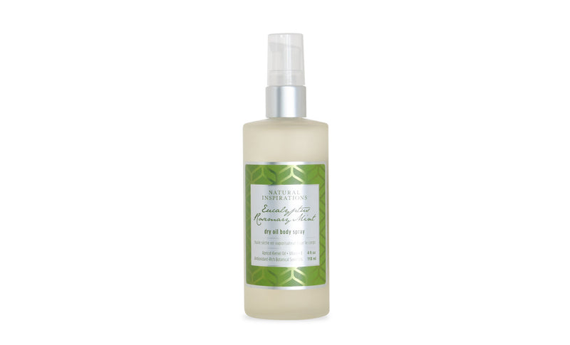Natural Inspirations Eucalyptus Rosemary Mint Dry Oil