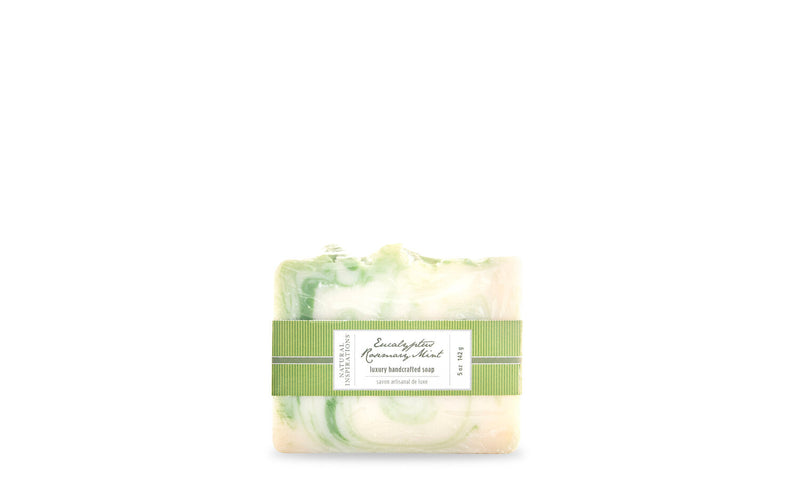 Natural Inspirations Eucalyptus Rosemary Mint Handcrafted Soap