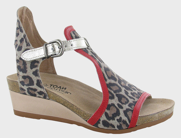 NAOT - Fiona - Cheetah/Red/Gold