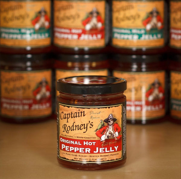 Captain Rodney's Private Reserve - Hot Pepper Jelly