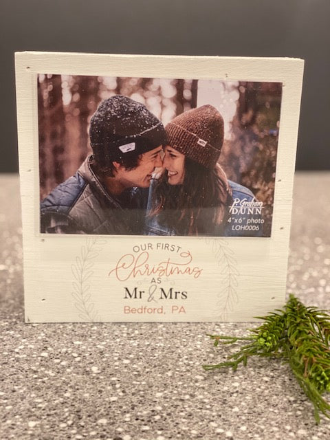 Our First Christmas as Mr & Mrs in Bedford PA