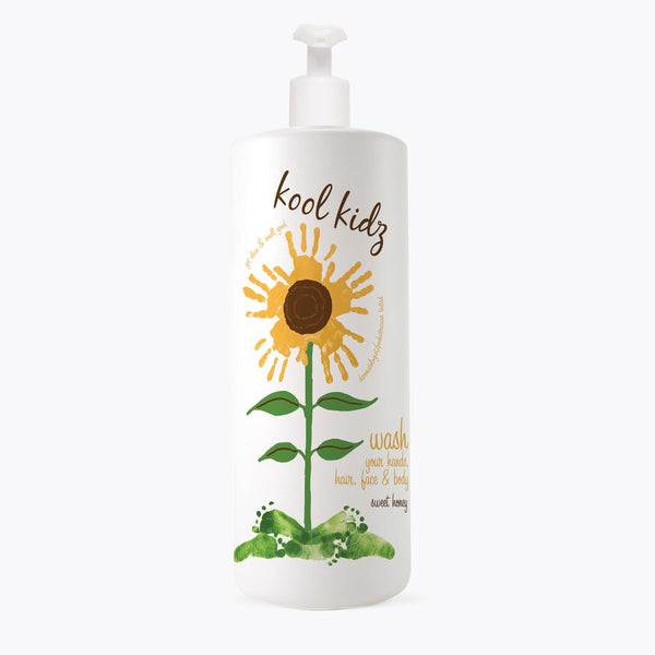 Kool Kidz Hair, Face & Body Wash Sweet Honey- 32 oz