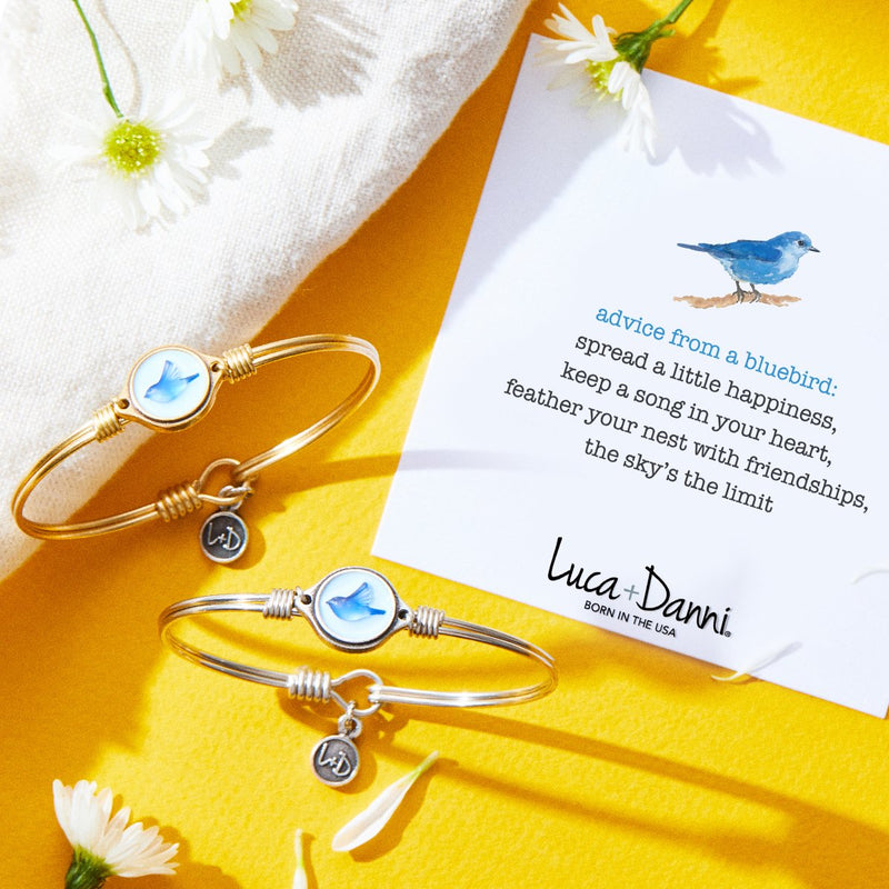 Luca & Danni Bluebird Bangle Bracelet