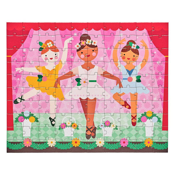Double Sided On-The-Go Ballerina Puzzle