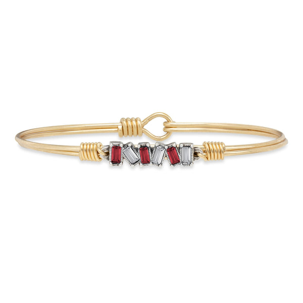 Luca & Danni Mini Hudson Bangle Bracelet in Everett Colors