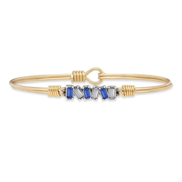 Luca & Danni Mini Hudson Bangle Bracelet in Bedford Colors