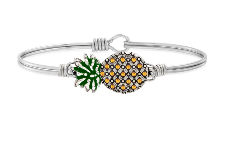 Luca & Danni: Pineapple Bangle Bracelet