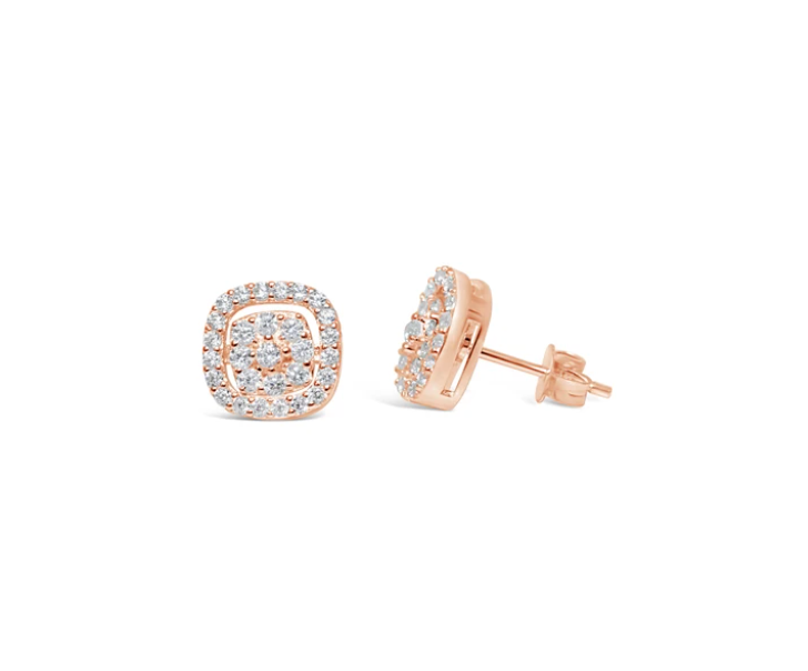 "Stia ""Dress Up"" Earring  Pavé-Pavé"