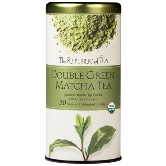 The Republic of Tea -Double Green Matcha Tea