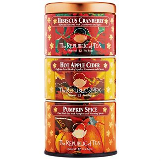 The Republic of Tea-Harvest Holiday Tins