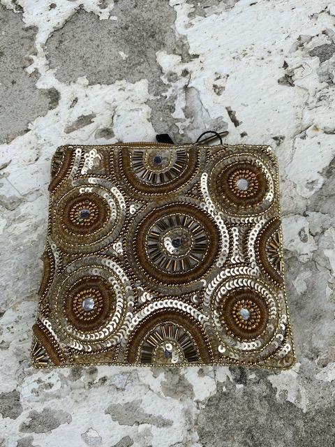 Bamboo Trading: Coin Purse Kaleidescope Gold