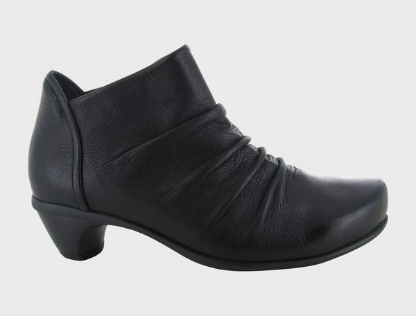 NAOT - Advance Bootie Heel - Soft Black Leather