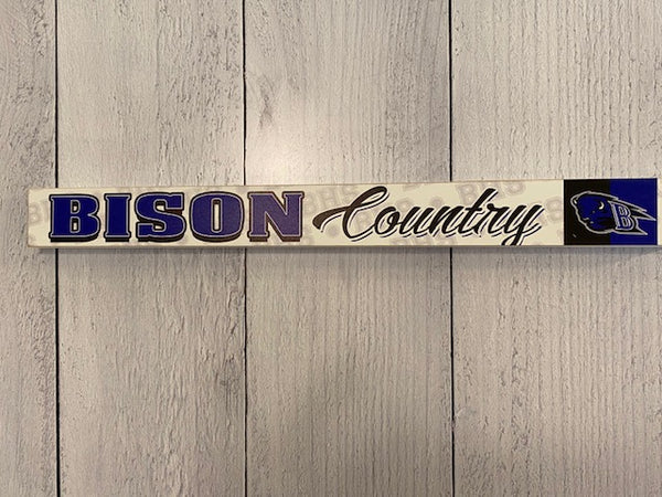 Bison Country Shelf Sitter