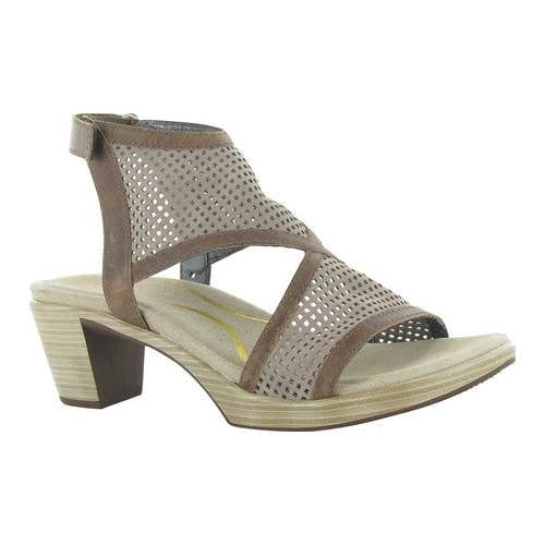 NAOT - Destiny Sandal - Stone/Saddle