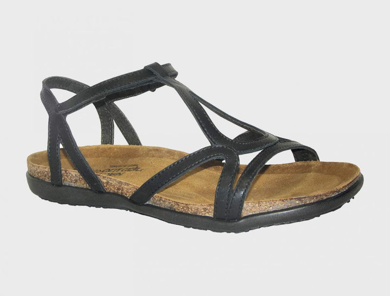 NAOT - Dorith Sandal - Black Raven Leather